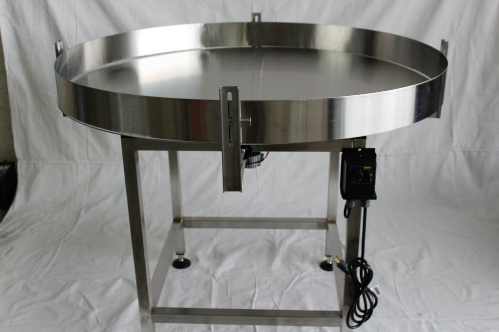 Accumulation Rotary Table 60 Diameter New Stainless Steel